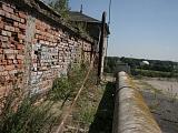 Umhausung der Lorenbahn (vor der Sanierung), Blickrichtung Osten