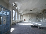 Maschinenhalle, ca. 450 qm, unrestauriert (Foto: Eberhard Lantz, BLFD)