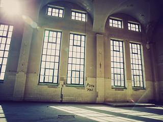 Maschinenhalle, ca. 450 qm, unrestauriert (Foto: Kai Vondran)