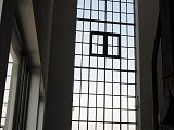 Fensterfront im Kesselraum