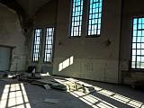 Maschinenhalle, ca. 450 qm, unrestauriert (Foto: Agentur Neubauer)